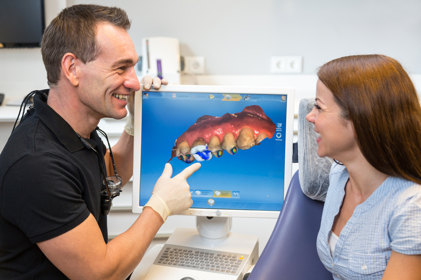 Cerec Inlays Zahnersatz computergestützt digital